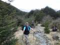 Karyl at top of Glacier Burn Track