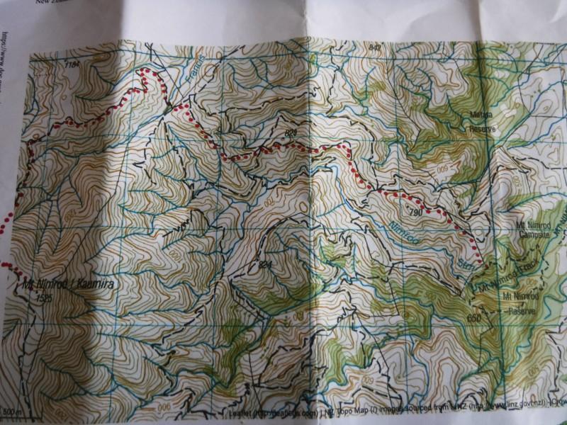 Mt Nimrod Route