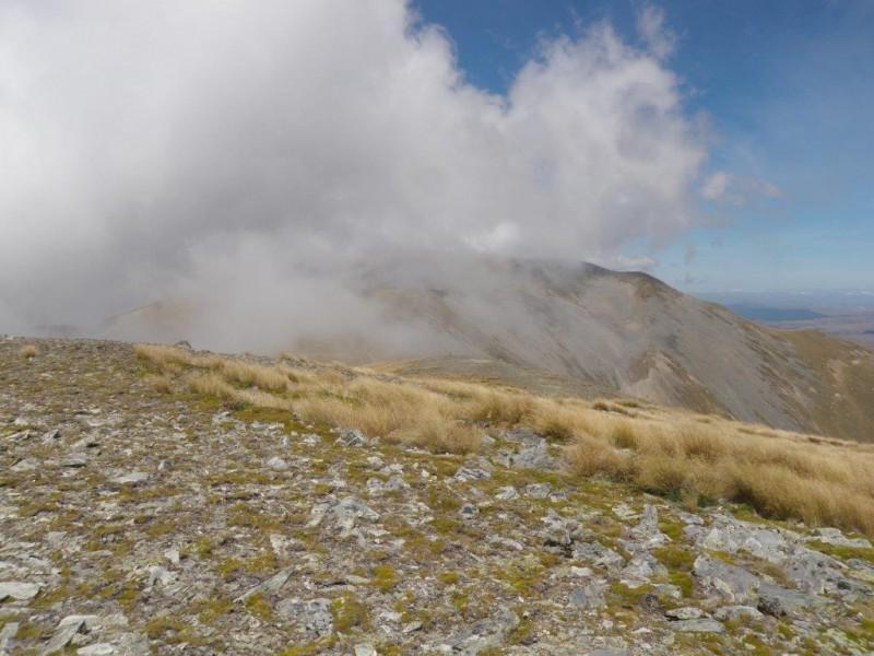 11 Cloud gathering over Mt Pisgah