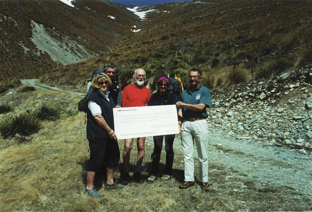 The Cheque!